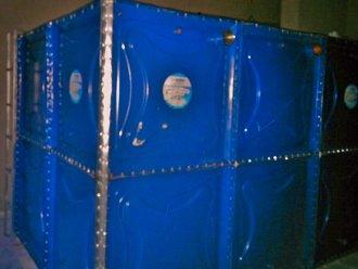 Toz Fırın Boyalı Modüler Su Depoları