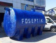 GRP Fiberglas Tank