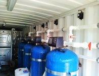 Modüler Depoya Su Arıtma Sistemleri,